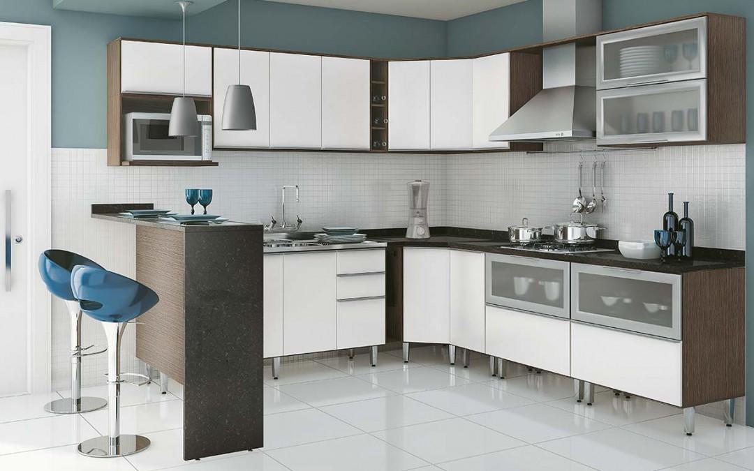 Estilos de Cozinhas: Cozinhas Pequenas Modernas | Futura Ambientes