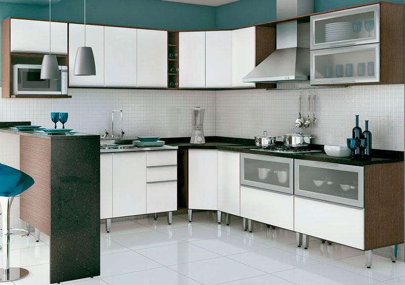 As cozinhas pequenas podem ser