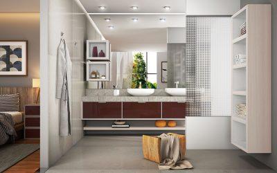 Banheiro sempre limpo!