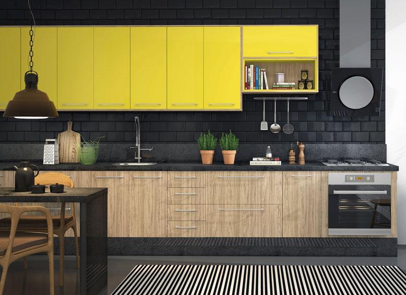 Móveis Planejados com cores vibrantes | Futura Ambientes