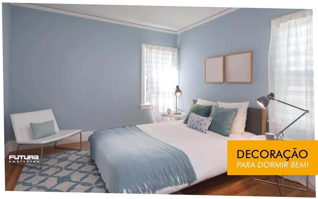 Adequar a decoração para dormir bem