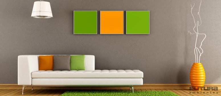 É preciso que as nuances apareçam de forma estruturada - Cores: como usar na decoração sem errar | Futura Ambientes