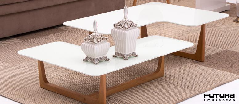 Ideais para servir de apoio para pequenos objetos decorativos e também para dar um toque de classe e estilo ao ambiente | Futura Ambientes