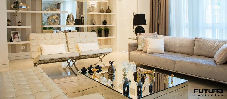Além de fantásticas, são ideais para dar um toque de classe e sofisticação à decoração | Futura Ambientes