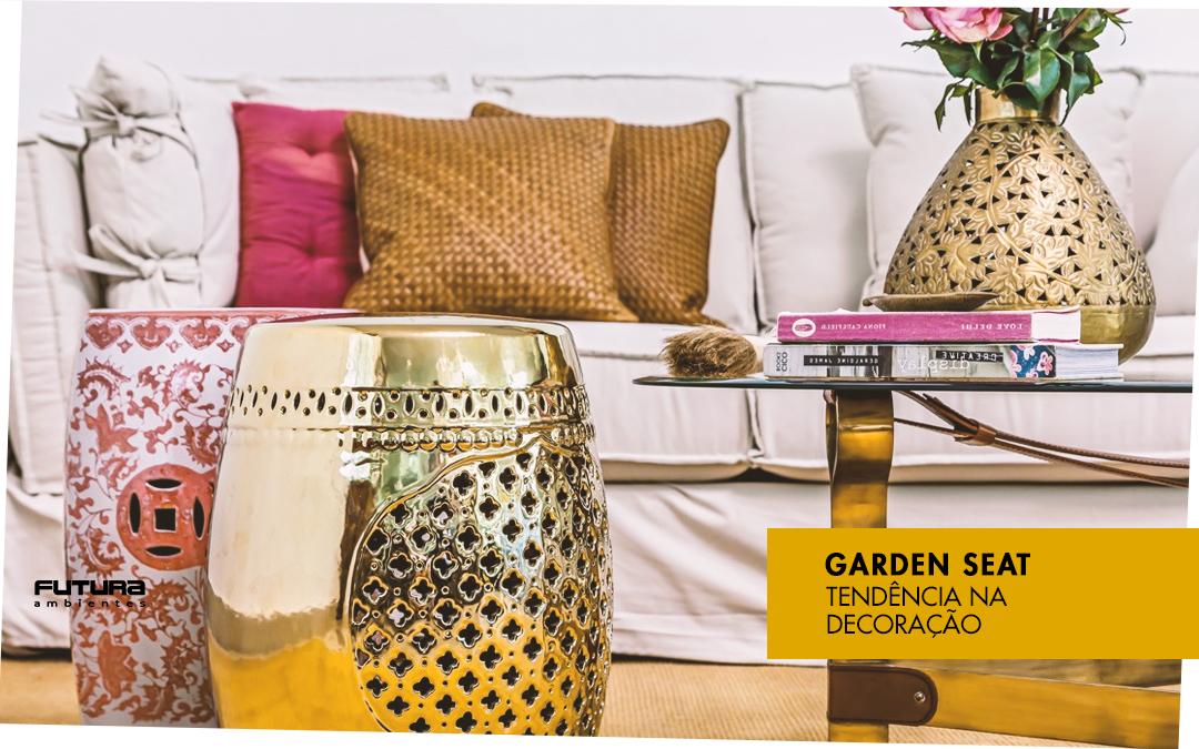 Garden Seat | Tendência na Decoração