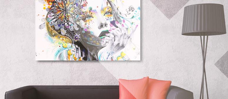 Quadros na decoração: mais vida, cor e aconchego