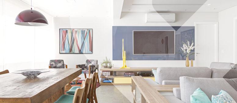 Decoração colorida ou monocromática | Futura Ambientes