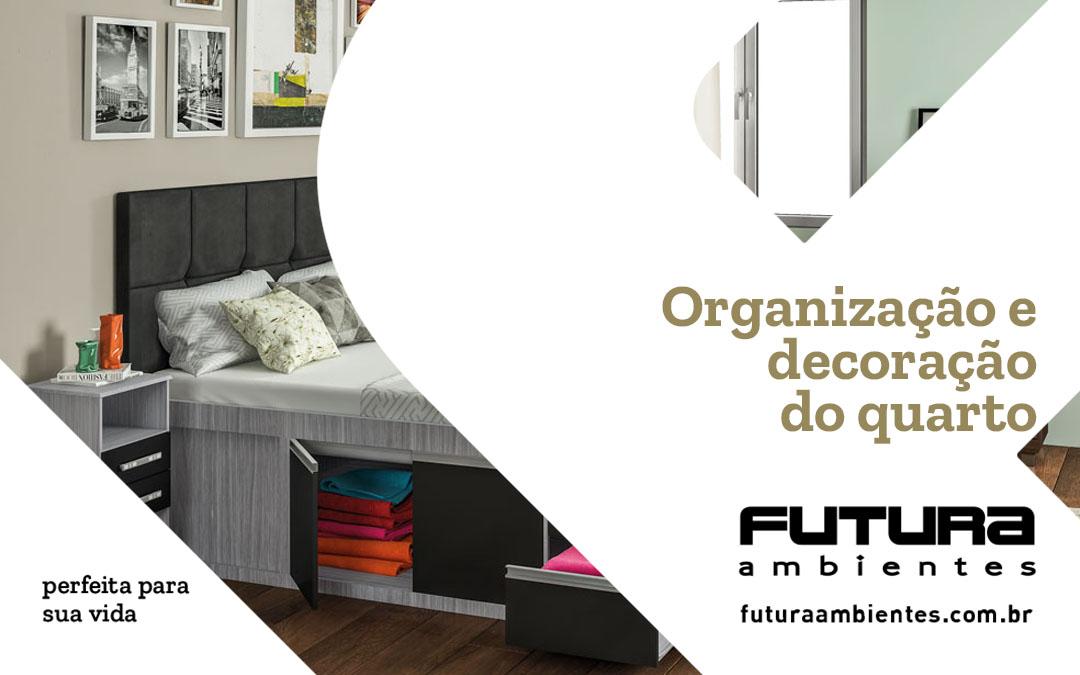 Organização e decoração do quarto: para uma vida mais fluída e otimizada!