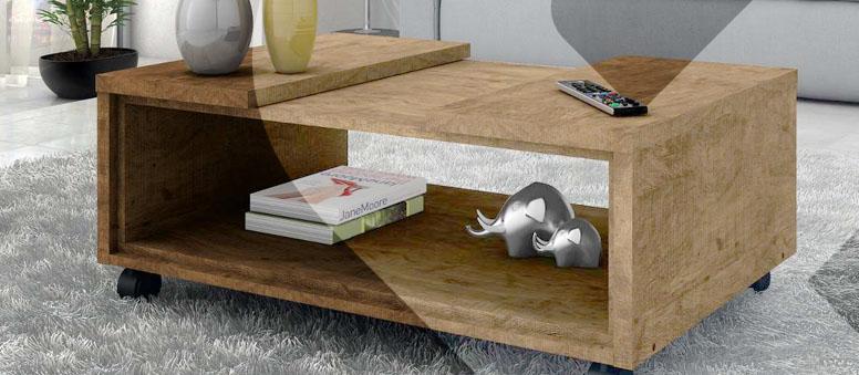 Mesa de centro: descubra qual o estilo ideal para sua decoração