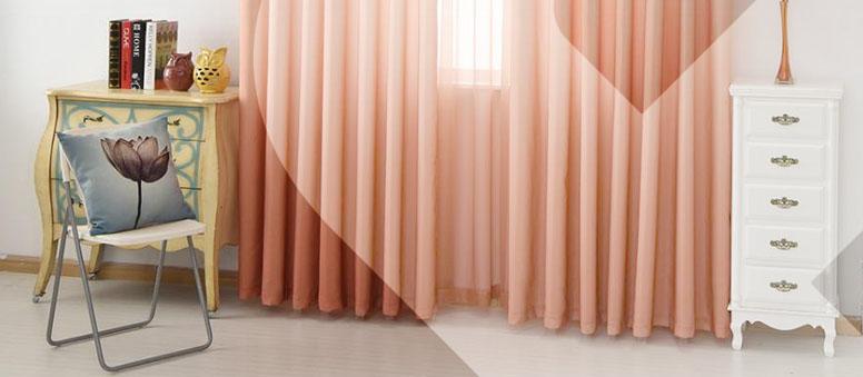Dê um UP no seu lar com cortinas coloridas!