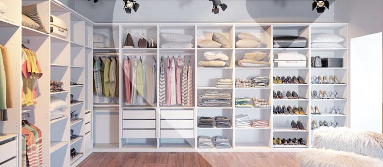 Que tal montar um Closet?