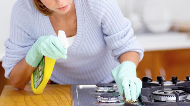 Resultado de imagem para limpar a cozinha