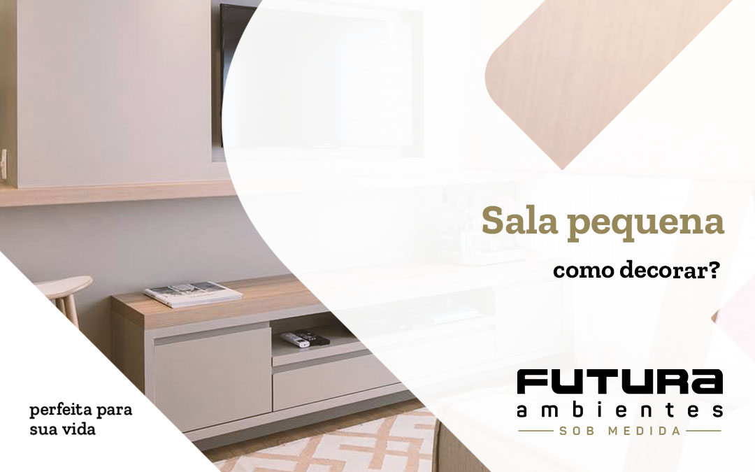 Sala de estar pequena: como decorar?