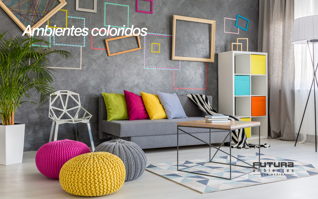 Ambientes coloridos: aposte nas cores e torne os espaços divertidos e aconchegantes