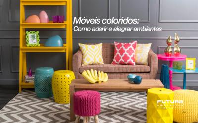 Móveis coloridos: como aderir e alegrar ambientes
